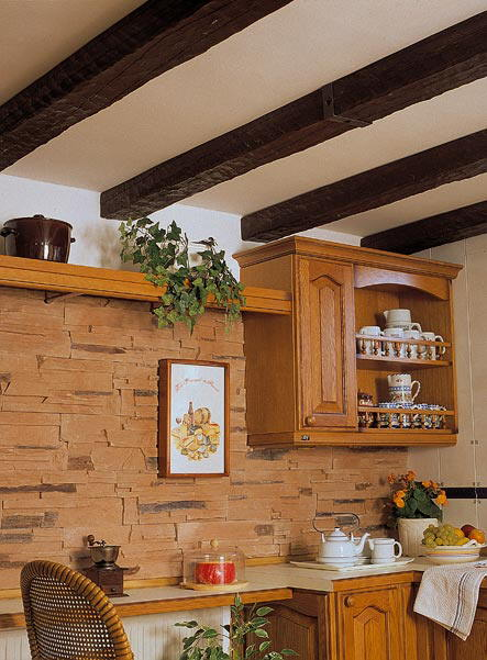 Grupo sindec vigas imitaci n a madera - Restaurar vigas de madera ...