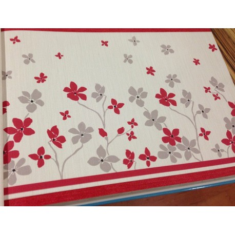 Cenefa papel pintado anais grupo sindec tienda online for Cenefas papel pintado