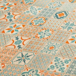 Tarima PVC Starfloor Click 30 Retro Orange Blue 36001003
